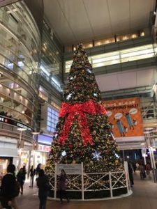 相模大野駅のクリスマスツリー